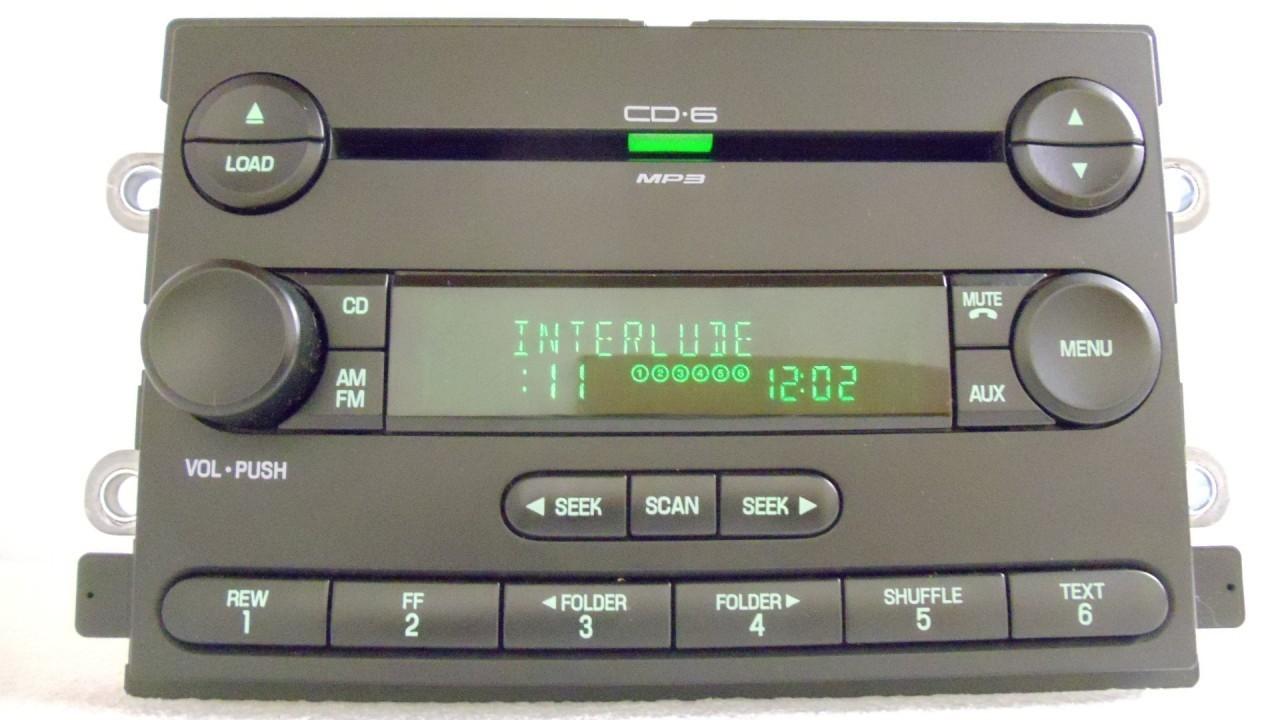 ford five hundred montego cd radio 5g1t 18c815 ea