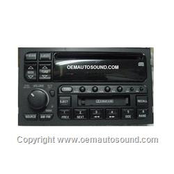 Delco factory Radio am,fm cassette,cd player 09350424