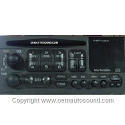 Factory radio delco Chevy/Gm 99-02 am,fm cd player 09383075