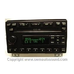 Factory Radio Ford Expedition Mustang 2003 to 2006 3L1T-18C815-AA
