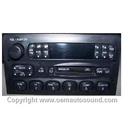 Ford Lincoln Radio 1995-1999  F75F-19B165-DA