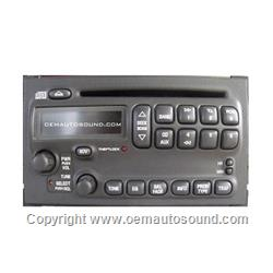 Factory Radio Pontiac Bonneville 2000-2004/Grand Prix 2004-2008   10439778
