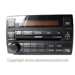 Nissan Altima Bose radio 6 Disc cd Player 28185 ZB20B