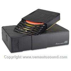 OEM 6-DISC CD CHANGER JAGUAR S TYPE 00-2001