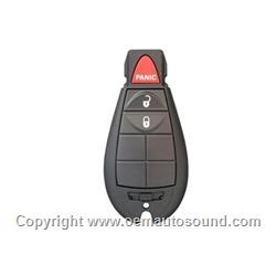 CHRYSLER 2008-2012 Keyless Entry Smart Remote