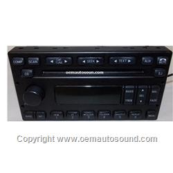 2005 Ford Mercury Factory Radio CD Player 5L2T-18C869-BC