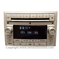 Factory Radio Lincoln 2006-2010 Cd Player 7H6T-18C815-AF