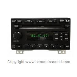 Radio Ford,Mercury 2001-2005 6-disc changer 1L2F-18C815-BC