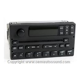 Ford F-150 Pickup truck Radio w CD Player 1L3F-18C869-AA