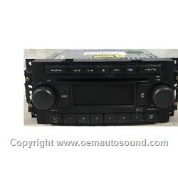 Factory Radio Chrysler Dodge Jeep P05064173AF
