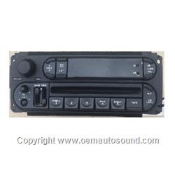 1998 to 2002 Radio Chrysler Dodge Jeep P56038567AH