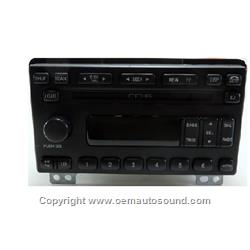 Factory Radio Ford Lincoln 2R3T-18C815-AA