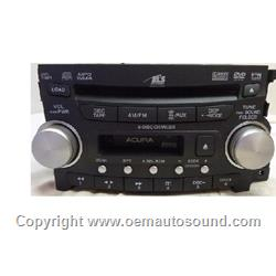 Factory Radio Acura TL 39100-SEP-A100 2007-2008