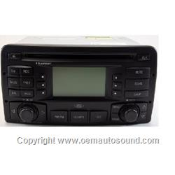 Ford Focus cd radio 3S4T-18C869-AF