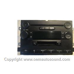 2004-2006 Ford Factory Radio 4L3T-18C868-FE
