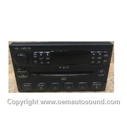 Ford Mercury 1998-2004 AM FM CD Player XL5F-18C815-AA