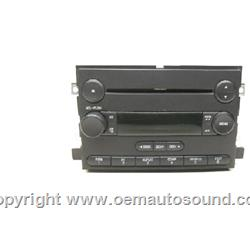 6F9T-18C869-BC Factory Radio Ford Mercury 2005-2007