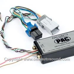 Auxiliary Input Interface for Oldsmobile Pontiac 2000-2008 AAI-GM12