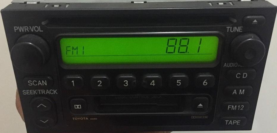 Original Toyota Cd Tape Radio 4runner 09357129 Ad6803rhoemautosound: 2002 Toyota 4runner Radio At Gmaili.net