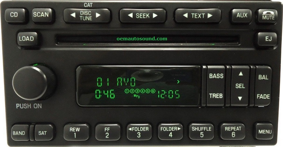 Ford Mercury 6disc Cd Player 5l1t18c815bcrhoemautosound: 2005 Mercury Mountaineer Radio At Gmaili.net